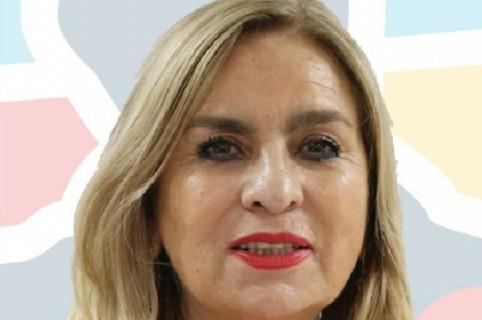 Zayda Barrero candidadata al Senado y esposa del rector de la Universidad Sergio Arboleda
