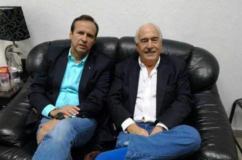 Jorge Quiroga y Andrés Pastrana