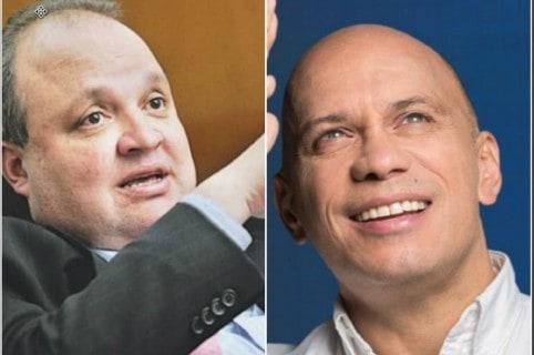 Jorge Enrique Vélez y Sergio Araujo