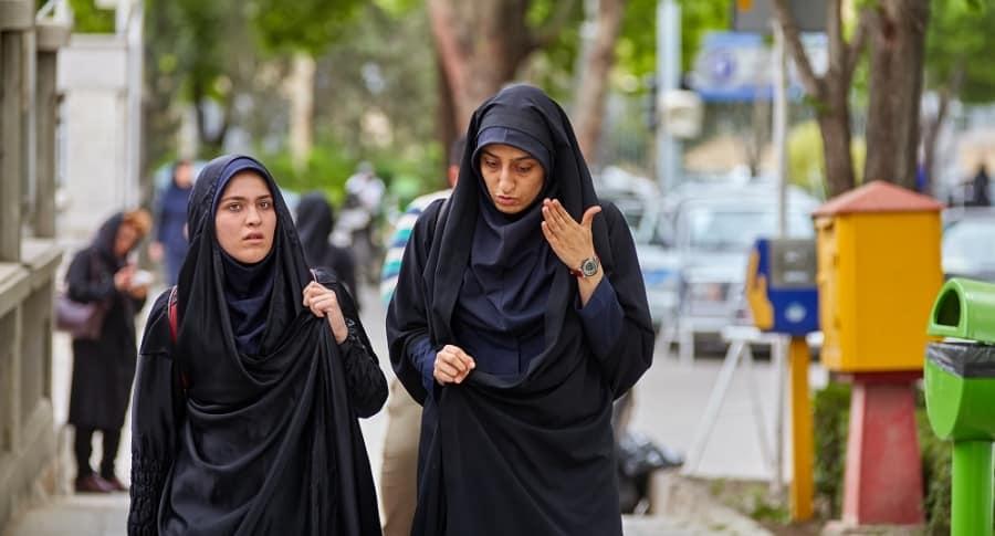 Mujeres con velo en Irán