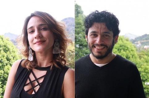 Cecilia 'Chichila' Navia y Santiago Alarcón, esposos y actores.