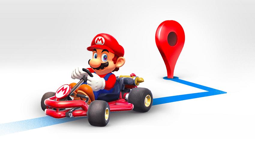 Mario Kart y Google Maps