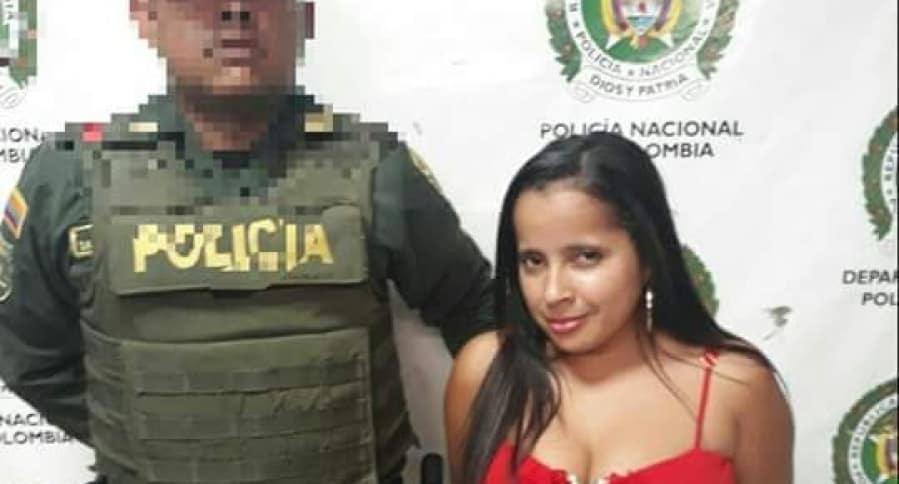 Mujer capturada por agresión a suexpareja