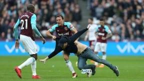 Hincha invade la cancha del West Ham