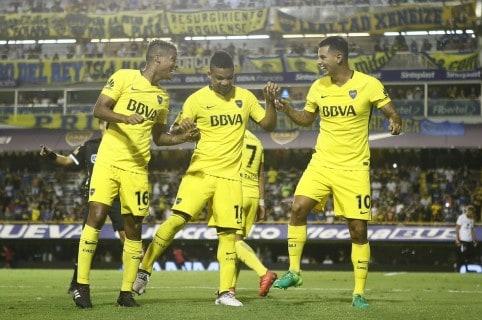 Colombianos en Boca