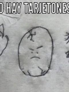 Meme falta de tarjetones