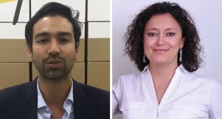 Mauricio Toro y Angélica Lozano