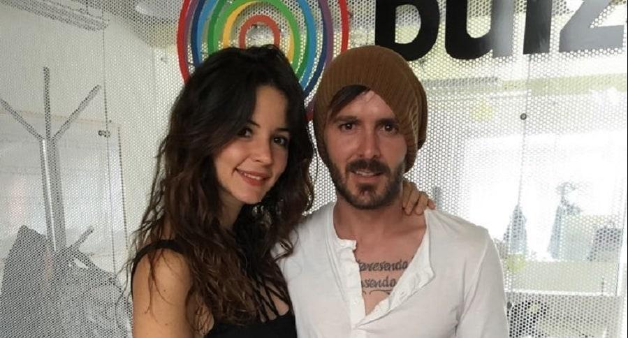 Maleja Restrepo, actriz, y su esposo Tatán Mejía, motocrosista.1