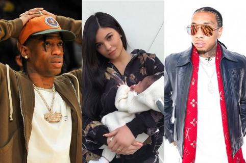 Travis, Kylie Jenner, Tyga