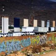 Prototipos de muro en California