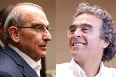 Humberto De la Calle y Sergio Fajardo