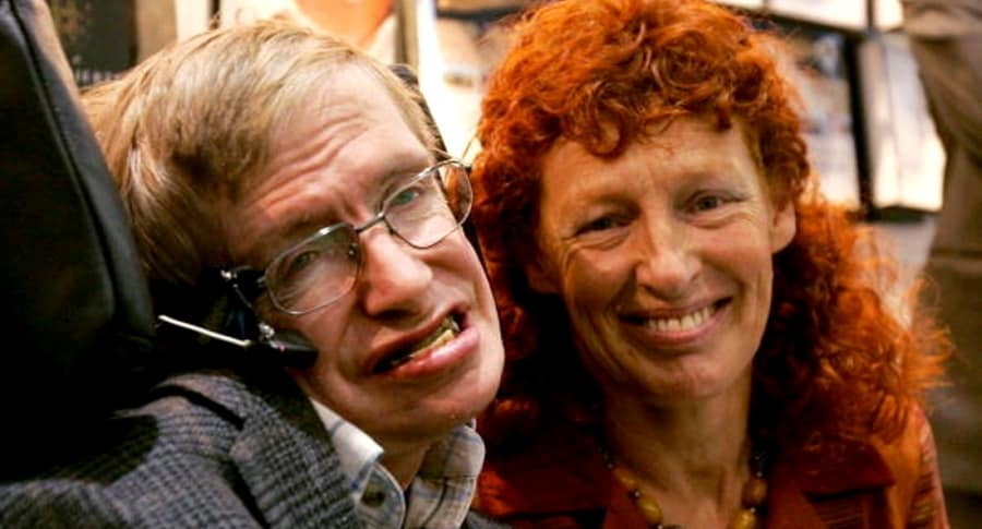Hawking y su segunda esposa