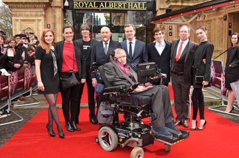 Hawking, en el Royal Albert Hall