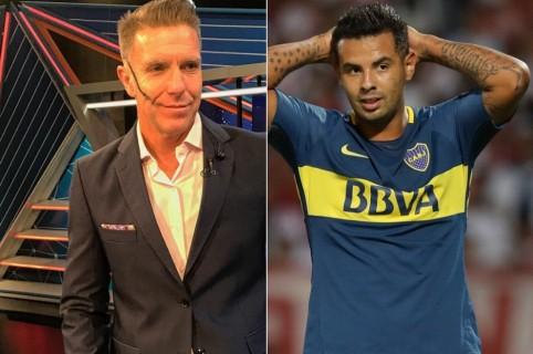 Alejandro Fantino y Edwin Cardona