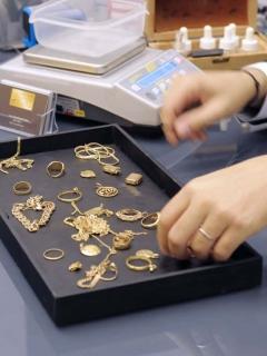 Comercio de oro