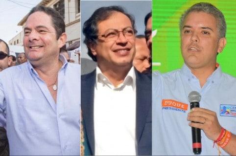 Petro, Vargas y Duque
