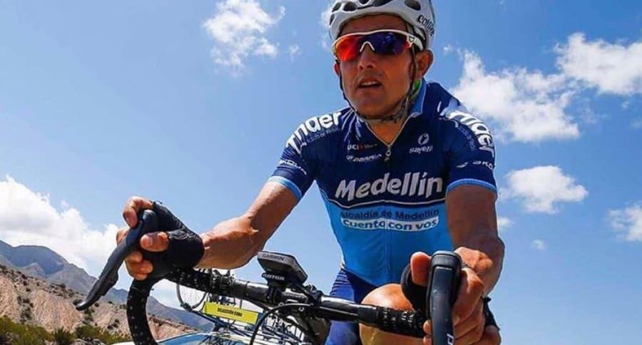 Óscar Sevilla, ciclista profesional