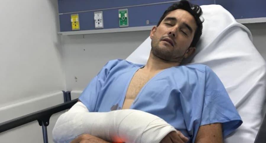 Atraco a Óscar Sevilla