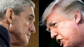 Robert Mueller y Donald Trump
