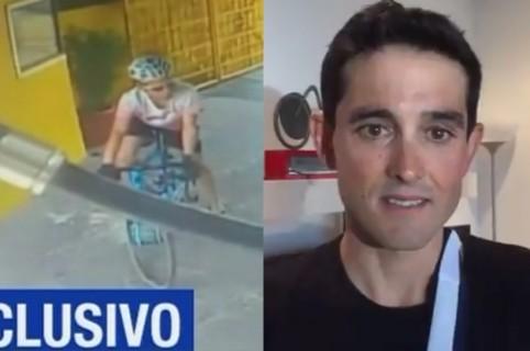 Robo a Óscar Sevilla