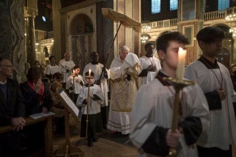Catedral Westminster en Inglaterra