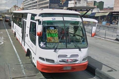Bus del SITP Provisional