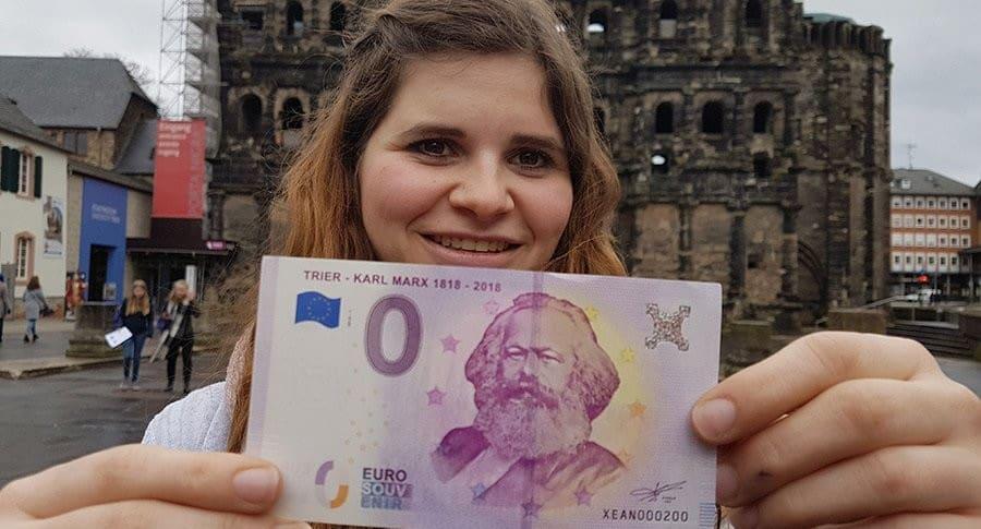 Billetes de Karl Marx
