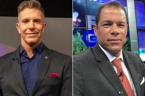 Alejandro Fantino y Óscar Córdoba