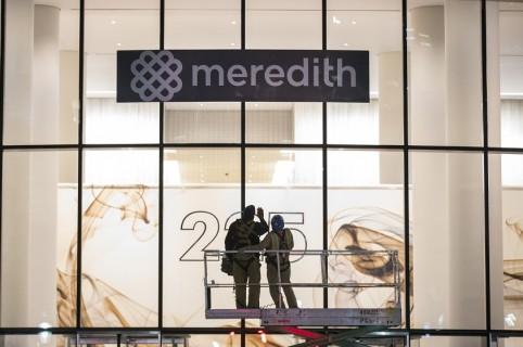 Logo del grupo Meredith