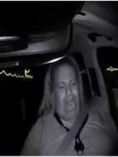 Operador del vehículo de Uber