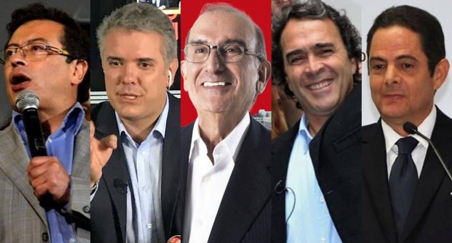 Candidatos presidenciales