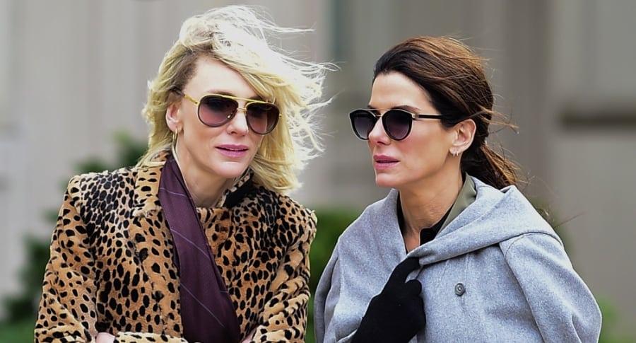 Sandra Bullock y Cate Blanchett