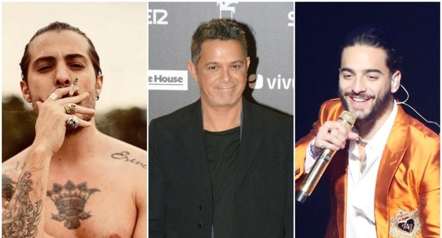 Llane, Alejandro y Maluma