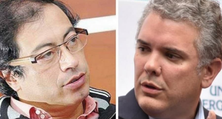 Debate Gustavo Petro e Iván Duque
