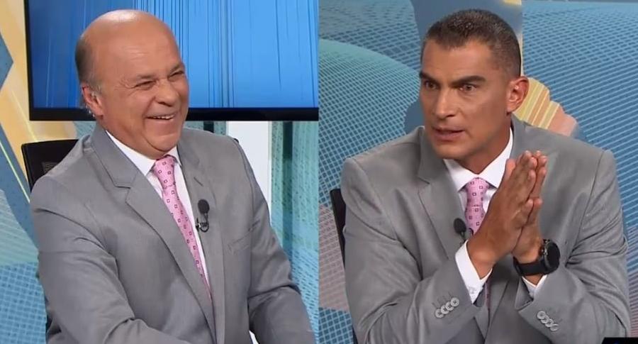 Carlos Antonio Vélez y Faryd Mondragón