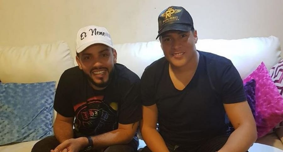 El nene Carrascal y Rafa Pérez