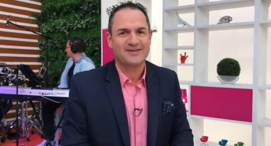 Mauricio Vélez, actor y presentador.