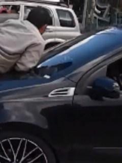 Hombre arrastrado por conductor en sur de Bogotá