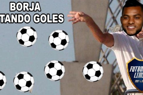 Meme de Miguel Borja