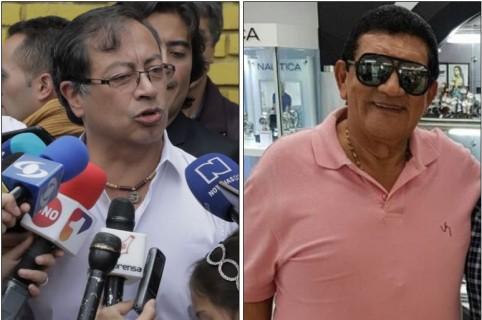 Gustavo Petro y Poncho Zuleta