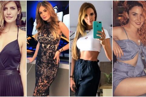 Mabel Moreno, Sara Uribe, Violeta Bergonzi y Carolina López