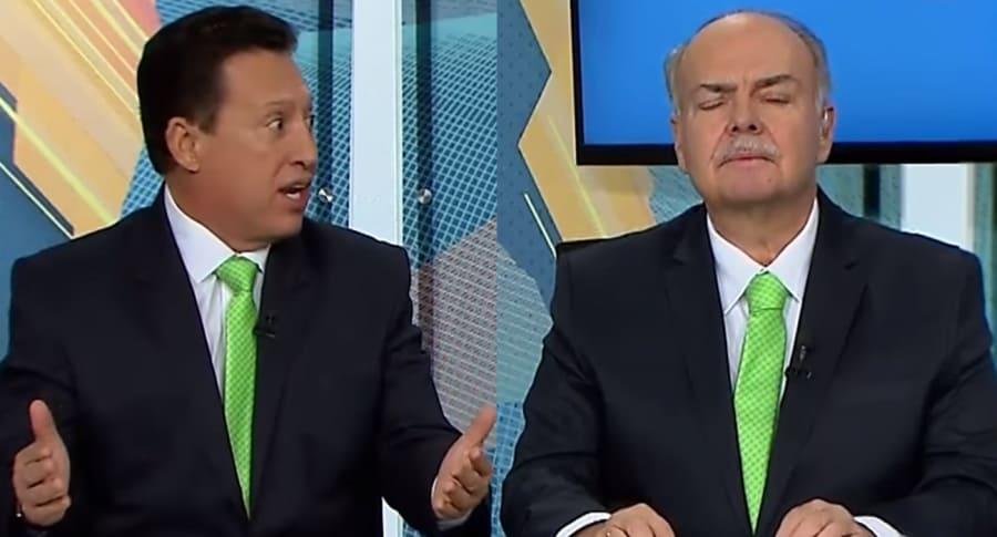 Óscar Rentería e Iván Mejía