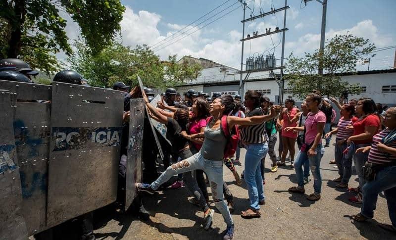 Motín en Venezuela