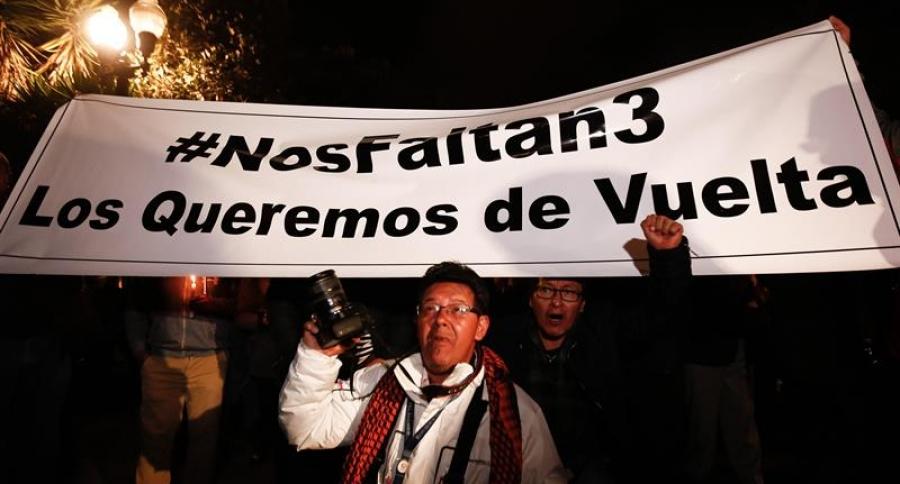 Periodistas Ecuador