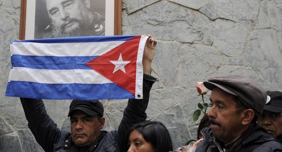 COLOMBIA-CUBA