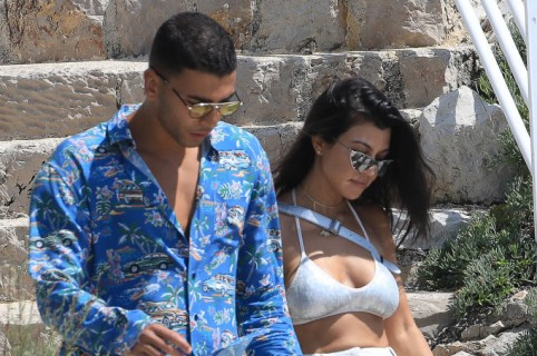 Younes Bendjima y Kourtney Kardashian