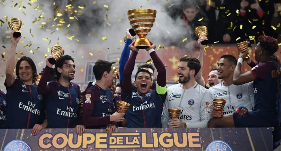 Paris Saint-German campeón de la Copa de la Liga de Francia