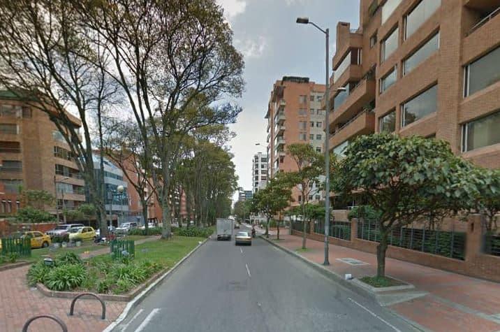 Barrio Chicó en Bogotá