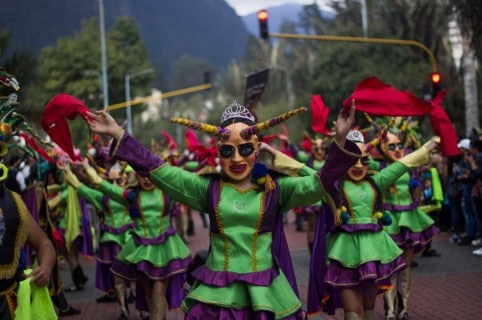 Apertura del Festival de Teatro de Bogotá 2018