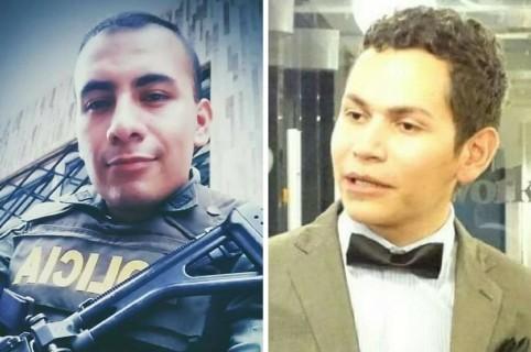 Jhony Andrés Moreno  y Hernando Zabaleta